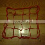 China cheap red rubber bungee cord/flat bungee cord net