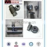new fashionable stylish small mirco brass worm gear by cnc machining ask for whachinebrothers ltd.