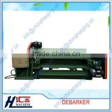 4ft/8ft log debarker wood log decorticate barking machine debarker and round log lathe round debarker machine