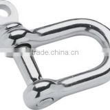 SeaSense Stainless Steel Straight D Anchor Shackle
