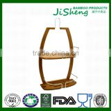 TOP Quality Bamboo Bathroom Shower Tub Hanging Caddy with LFGB & FDA