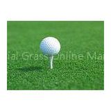 Fire Resistance 15MM Golf Artificial Grass Turf Putting Greens SGS Approved