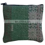 Wholesale New Arrival 2017 Indian Vintage Kantha Coin Clutch Wallet