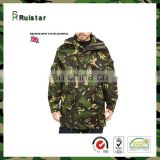 Tri Color Camouflage Mens Military Jacket ECWCS Parka