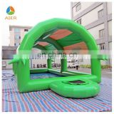 hot sell inflatable water pool with dome for sale