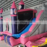 Inflatable castle combo with slide