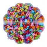 FOLZOO Colorful Acrylic Stringing Beads Beaded Children's Educational Toys