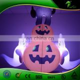 New Cool Halloween Decoration LED Lighted Inflatable Pumpkin/ Black Cat/ Ghost For Halloween