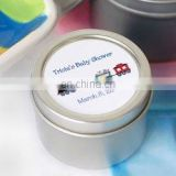 Personalized Baby Candle Tin Favors