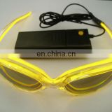 Glasses party led glasses light plastic glasses flashing light glasses