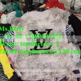 Premium second hand clothes man and woman cream