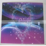 High quality custom 3d lenticular postcard, beautiful 3d postcard