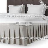 5star hotel 100% polyester bed skirt