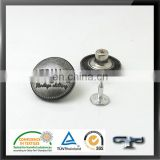 Decorative closing accessaries metal tack button