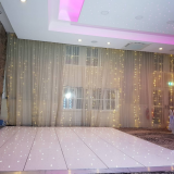 LED dance floor for wedding decoration with led lights
