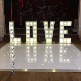 RK portable led dance floor for wedding decoration for sale