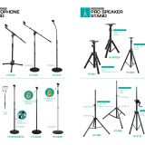 Microphone bracket Microphone Stand Height adjustable for wireless or wired micphone Mini Microphone Holder Foldable