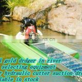 Small Gold Digging Dredger
