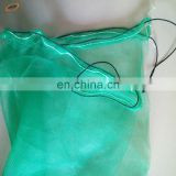 80x100cm,70x90cm green mono filament HDPE date tree date palm mesh net bag for date cover with black drawstrings
