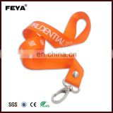 Promotional cheap Polyester Lanyard with logo/Polyester lanyard/custom nylon lanyard