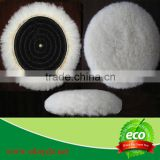 Wool textile polishing pad