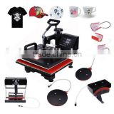 Newly 8 in 1 Multi-function Sublimation Printing Machine, 8 in 1 combo heat press machine