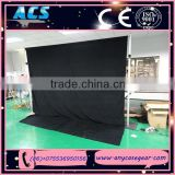 stage decoration backdrop fabric, portable backdrop stands, backdrop pipe and drape for wedding