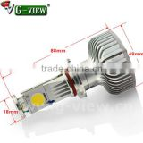 High lumen H4 H7 H8 H9 H10 H11 9005 9006 creechip car led headlight 6000K led car headlight