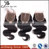 100% human hair full lace frontal closure silk base full lace frontal closures