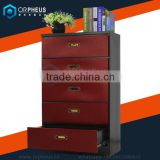 Orpheus Household Cabinet Furniture New 2016 Red Cabinet Modern Fashion Chest Of Drawer Cabinet