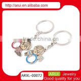 cute design couple boy girl keyrings key chains
