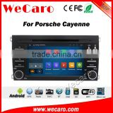 Wecaro WC-PC7014 Android 5.1.1 car multimedia for porsche cayenne 2003-2010 car dvd audio gps player navigation WIFI 3G