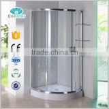 2016 Constar factory made new round tempered glass shower curved tempered glass shower enclosure