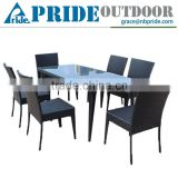 Vietnam Rattan Furniture Chinese Wholesale Rattan Wicker Restaurant Outdoor Furniture