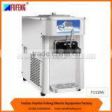 new F1119A counter table top soft ice cream machine singale cylinder freezing fast best for business use