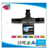 car dvr Night Vision Two Camera Rear View Camera H3000                                                                         Quality Choice