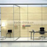 The best wide vision feeling full glass partition, soundproof office partition wall for working ( SZ-WSP371)