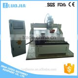 Hot sale ac servo motor 4 axis cnc woodworking machine, 3d carving machine, cnc router with rotary
