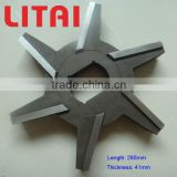Great special shape mincer blade knife for electric meat mincer