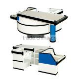 Hot ! supermarket checkout counter for sale/cashier counter/commercial checkout counters