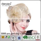 Women 100% Philippine Sinamay Bridal Hair Fascinators And Hats