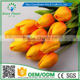 Home Decoration Occasion and Decorative Flowers & Wreaths Type 35CM mini tulip Real Touch for Home Weddings decorations