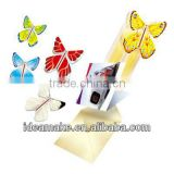 Promotion Gifts Wind Up Paper Butterfly from CD,Greeting Cards,Invitation Letter,Flowers and More