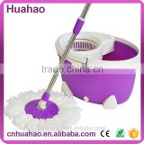 Hand press 360 rotating metal mop bucket