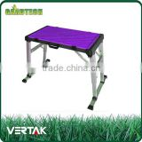 Good quality 4 in 1 multi-purpose foldable work table,portable folding work platform