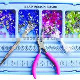 8 PC Jewelry plier sets bead design kits
