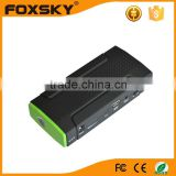 China factory OEM emergency car jump starter, lithium car starting rechargeable battery 12V