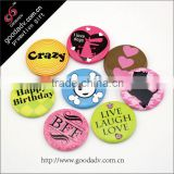 2015 the new product wholesale custom lovely modelling magnetic button badge