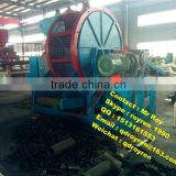 Automatic waste tire recycling line low investment high profit business tire debeader machine