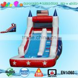 Hot sell cheap customized star inflatable water slides china for adults for sell                                                                                                         Supplier's Choice